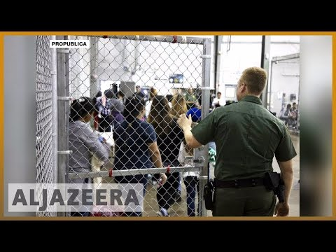 🇺🇸 Audio captures cries of children taken from parents at US border | Al Jazeera English