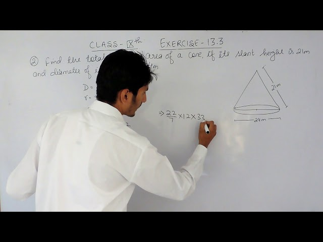 Exercise 13.3 Question 2 - NCERT/CBSE Solutions for class 9th maths