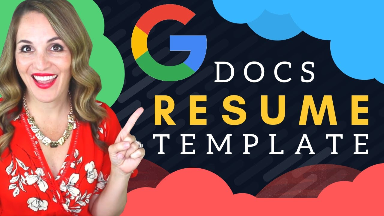 How To Write A Resume In Google Docs Google Docs Resume Template
