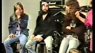 Trouble on Cable Net TV 1982 '' The Assassin '' Clip + Interview