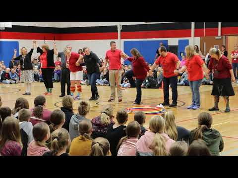 Amboy Middle School's October Assembly