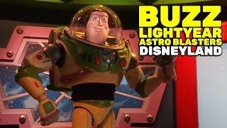 Buzz Lightyear Astro Blasters FULL RIDE at Disneyland