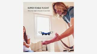 DROCON Scouter Foldable Mini RC drone for kids with Altitude H…