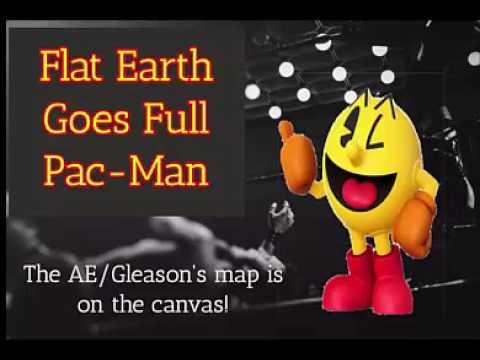 Flat Earth Goes Full Pac Man Promo   YouTube