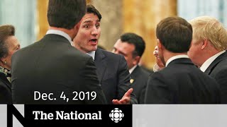WATCH LIVE: The National for Wednesday, Dec. 4 — Trudeau's Trump comments; rising food prices