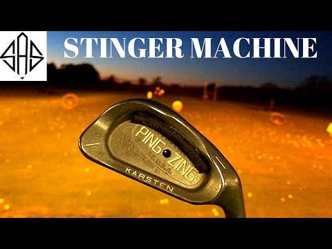 Pro Plays With Old School 1 Iron (Ping Zing Ball Flights)