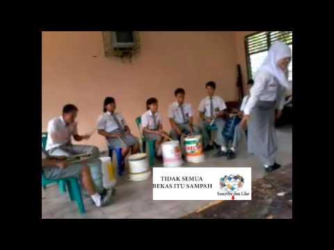 Perkusi Barang Bekas  Lagu Pop + Skill Mantap (Recycled Percusiion Indonesian Music)