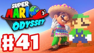 Super Mario Odyssey - Gameplay Walkthrough Part 41 - New Hint Art! (Nintendo Switch)
