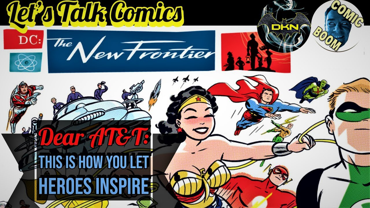 DC The New Frontier: DC Comics, Take Note. | Let's Talk Comics w/ Comic Boom