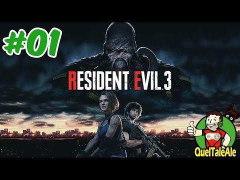 Resident Evil 3 REMAKE - Gameplay ITA - Walkthrough #01 - NON VEDEVO L'ORA