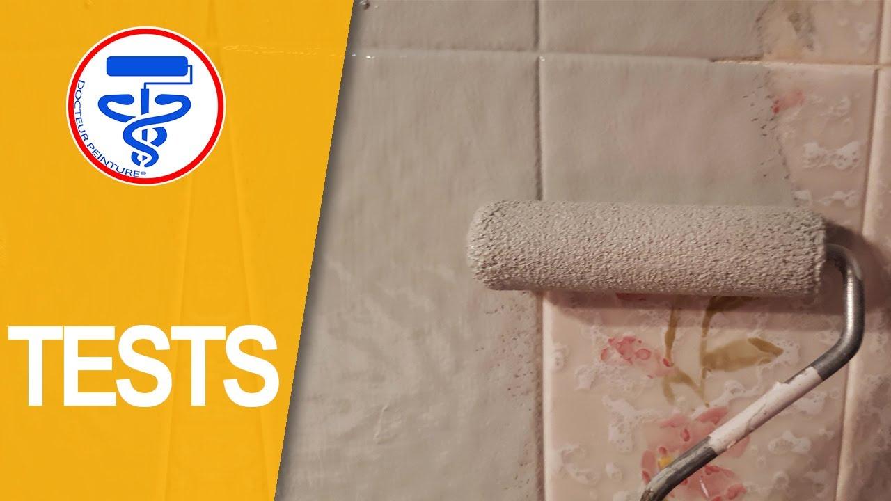 Comment peindre du carrelage mural avec une résine pas cher - YouTube