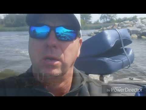 Heidecke Lake.  Fun Fishing 9-1-17