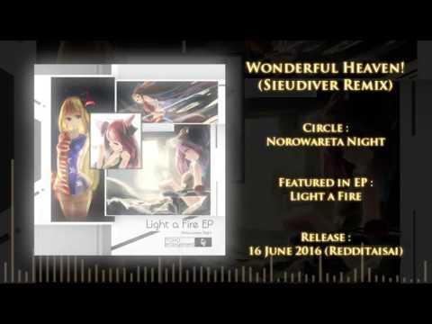 【東方 Touhou Vocal】Norowareta Night - Wonderful Heaven! (Sieudiver Remix)