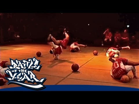 BOTY 2003 - FLYING STEPS (GERMANY) - SHOWCASE [OFFICIAL HD VERSION BOTY TV]