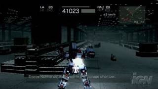 Armored Core 4 PlayStation 3 Gameplay - Up and at them!