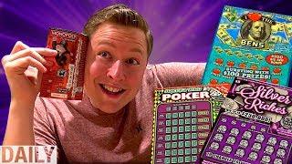 """Coop """"WINS"""" $50,000 On Scratch Offs!"""