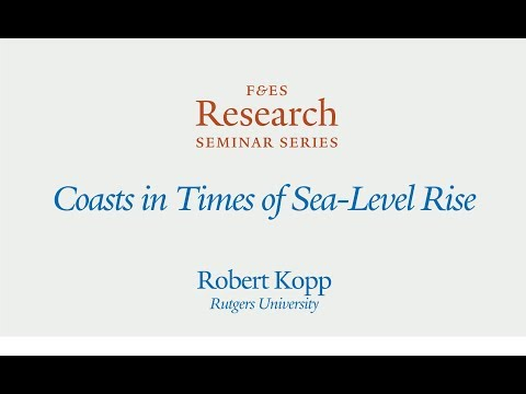 Research Seminar - Coasts in Times of Sea Level Rise