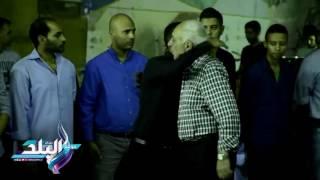 شيرين شمس وحارث في عزاء شقيق حسام عاشور .. فيديو