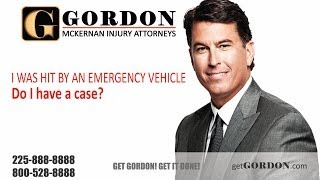 I Was Hit by an Emergency Vehicle | Gordon McKernan Injury Attorneys