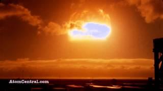 Ядерные взрывы оригинальный звук