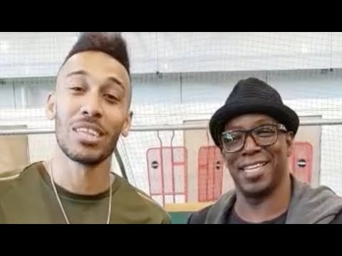 (Exclusive) Aubameyang & Ian Wright Send A Special Message To Troopz!