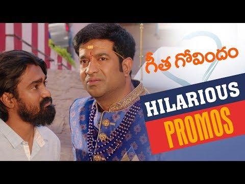 Geetha Govindam Back to Back Hilarious Promos | Vijay Deverakonda, Rashmika, Parasuram