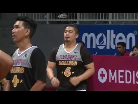 Happy Ballers VS IBL Legends | IBL Charity Game