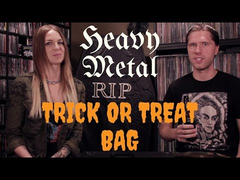 Heavy Metal Trick or Treat Bag