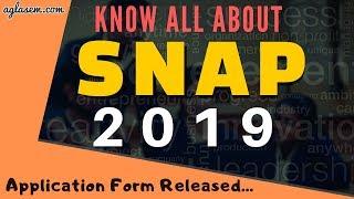 SNAP 2019  Registration