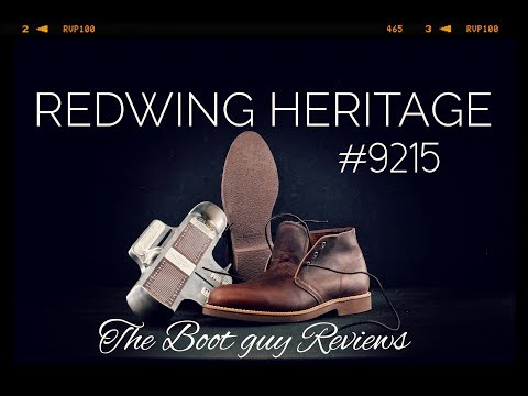REDWING Heritage #9215 [ The Boot Guy Reviews ]