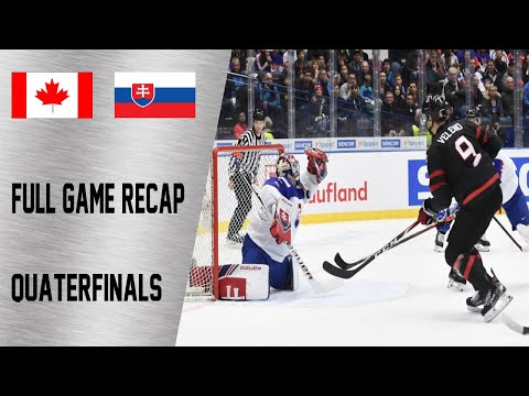 Canada vs Slovakia Quarterfinals Highlights | January 2nd, WJC 2020