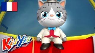 Monsieur Le Chat! | Comptines et Chansons Pour Bébé | Dessins Animés | KiiYii En Français