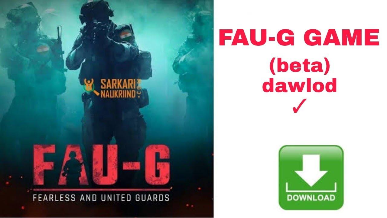 Download FAU-G game play (beta) dawlod Link,,/ haw to dawlod FAU-G GAME beta