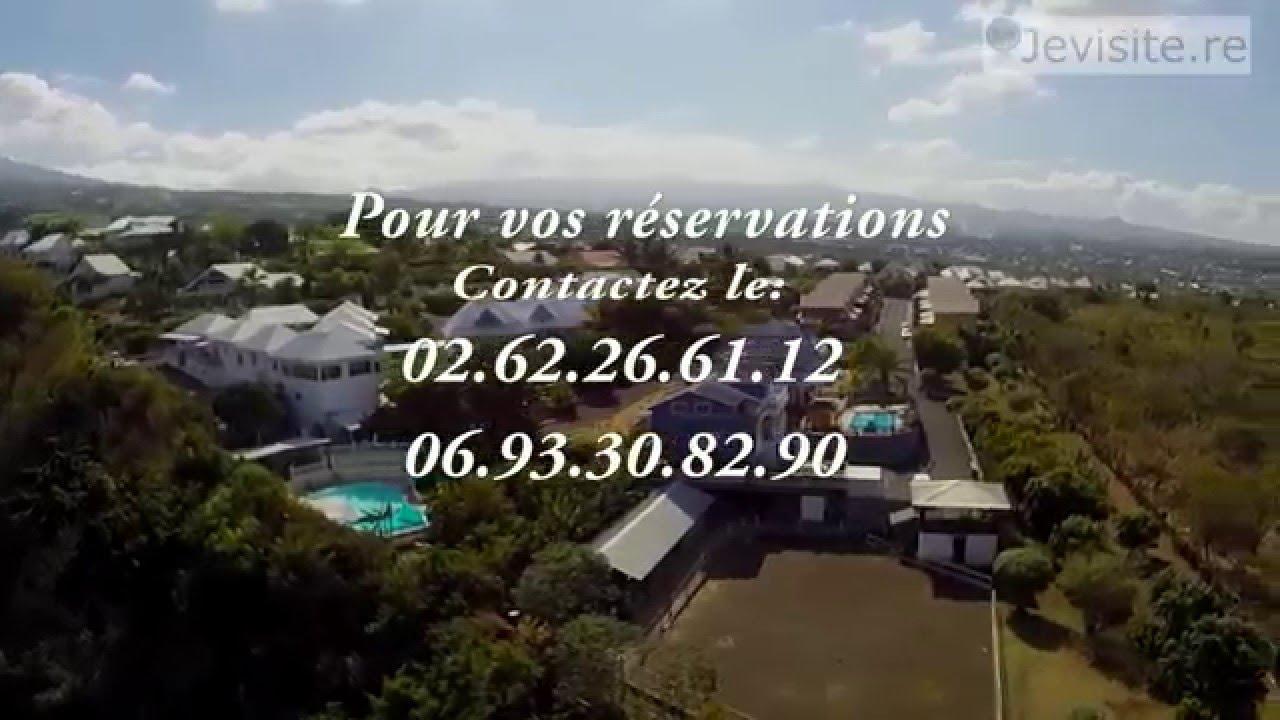 Visite virtuelle chambres d 39 h tes la villa paille en queue saint louis youtube - Chambre d hote saint louis ...