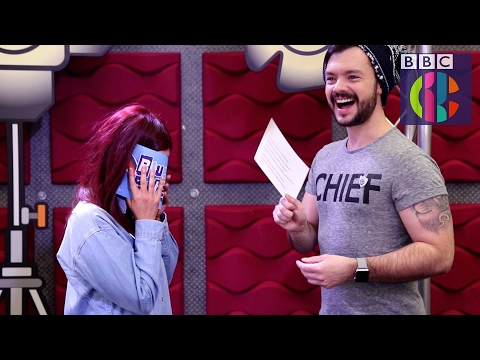 Cheesy chat up lines challenge with Barney and Lindsey | CBBC