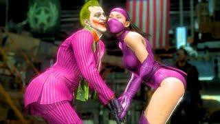 MK11 The Joker Performs All FRIENDSHIPS
