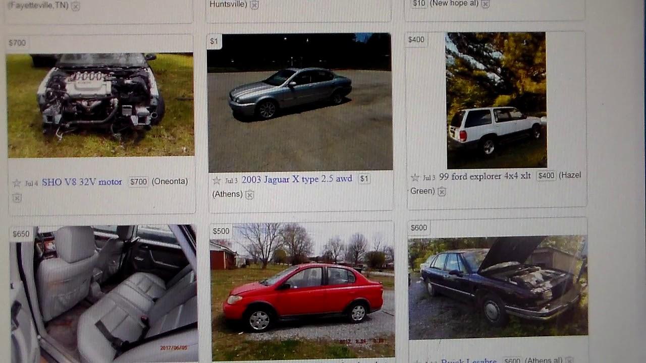 what kind of cars do you find on craigslist under 1000 volume 2 youtube. Black Bedroom Furniture Sets. Home Design Ideas