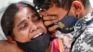 Индия погружается в хаос. Массовые смерти и геноцид населения. COVID-19 разрывает страну