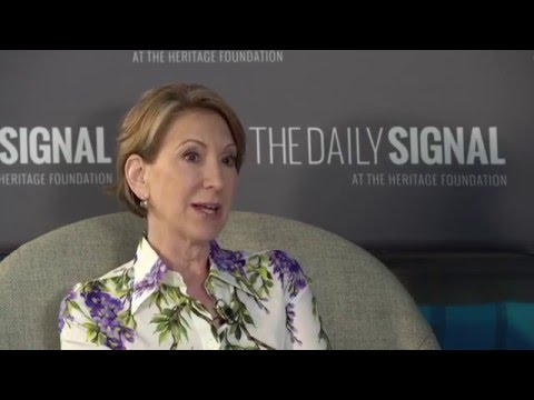 Carly Fiorina on 2016 and What