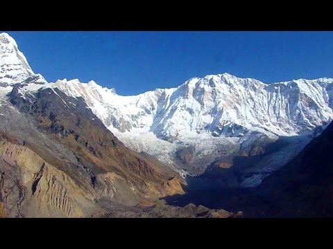 Awesome Himalaya views at Annapurna Base Camp, Nepal