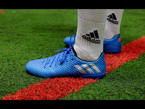 Review & On-Feet: Adidas Messi 16.1 - Shock Blue/ Silver