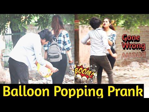 Balloon Popping ( ) Prank - DANCING CAR    Prank in india    MindlessLaunde