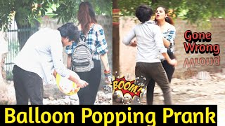 Balloon Popping (गुब्बारा चटकाना) Prank - DANCING CAR    Prank in india    MindlessLaunde