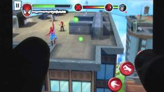 Spider-Man: Total Mayhem iPhone Gameplay Review - AppSpy.com