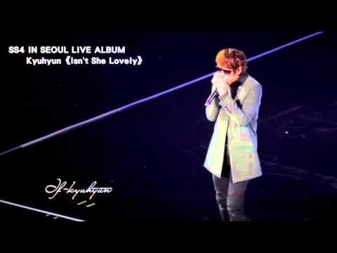【Full Audio】Super Show4 Live Album - Kyuhyun《Isn't She Lovely》