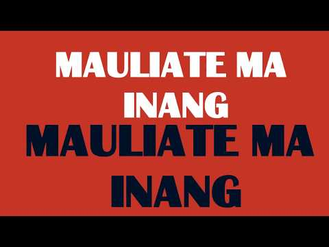 Rany Simbolon - Mauliate Ma Inang - (Offical Lyric Video)