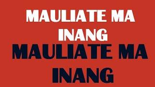 Rany Simbolon - Mauliate Ma Inang - (Offical Lyric Video)
