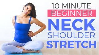 Beginner Yoga for Neck & Shoulders