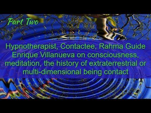Mission Rahma, Alien Contact, Telepathy, Channeling Grant Cameron Interviews Enrique Villanueva