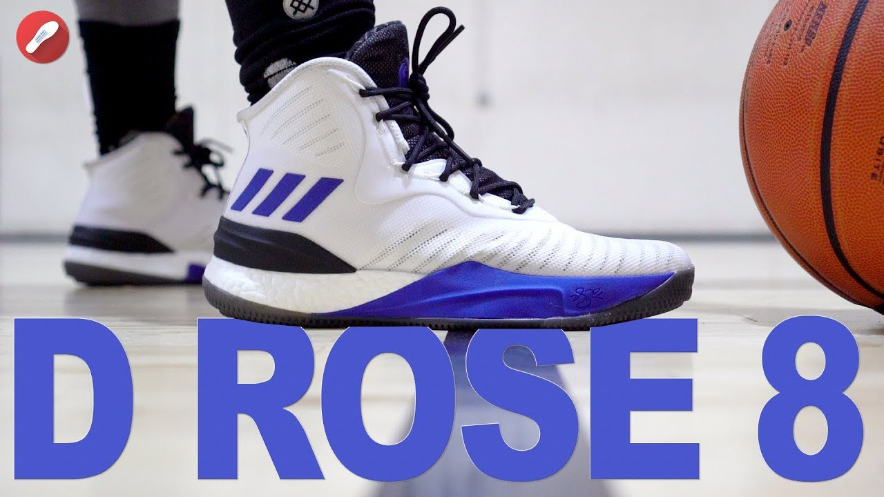 Adidas D Rose 8 Performance Review! AMAZING PERFORMER ! - YouTube eb1e0723f
